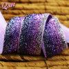 25mm Rainbow Purple Sparkly Glitter Ribbon