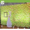 Uvg parete artificiale verde del fiore del Hydrangea e della Rosa per la decorazione del contesto della fase di cerimonia nuziale