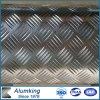 Подгонянная Checkered плита алюминия/алюминиевых проступи