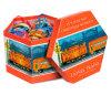 Коробка игрушки бумаги печатание шестиугольника упаковывая