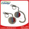 Gancio piegante del sacchetto della borsa del metallo promozionale dei regali con la catena chiave