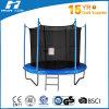 Trampoline 8FT дешевый круглый с сетью безопасности и трапом