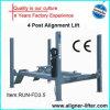 CE используемый подъем автомобиля гаража домой 4 столбов
