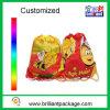 Saco relativo à promoção da sapata do saco da roupa do saco da trouxa do Drawstring