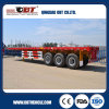 中国の重義務40FT Container Flatbed Trailer