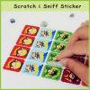 Long su ordinazione Lastng Scratch e Sniff Scent Sticker