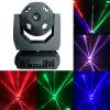 Luz esférica de la cara del LED 10PCS*12W de la viga de DJ del disco del balompié principal móvil doble del efecto