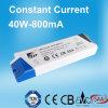 SAA anerkannte konstante Stromversorgung des Bargeld-LED mit 40W 800mA