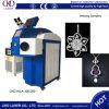 De Europese Machine van het Lassen van de Laser van de Juwelen van de Kwaliteit met Hoge Precisie