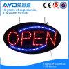 Visualización abierta electrónica oval de Hidly LED
