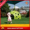 Binnenplaats die de Kunstmatige Dekking van het Gras voor Tuin modelleren