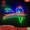 Iluminação do sinal de néon do diodo emissor de luz da barra 12V 24V do Pub da cerveja de Railbow da palmeira do papagaio