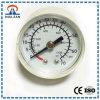 Calibrador de presión médico del calibrador del oxígeno del plástico de la alta presión 40m m