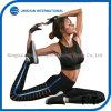 Neue Ankunfts-Eignung-Gamaschen-Frauen mit Löchern und hellen blauen seitlichen Form-Sport-Hosen