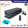 Doppelte-Ouput 2 X 315W Mh/HPS wachsen Beleuchtung-Vorschaltgerät für Innengarten