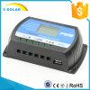 het Controlemechanisme/de Regelgever van de Macht van de Last 12V/24V 40AMP voor het ZonneSysteem van het Huis met LCD Vertoning USB OTO-40A