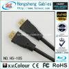 Cable de alta velocidad 3 D HDMI plateado oro