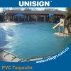 Bâche de protection imperméable à l'eau de PVC pour la piscine