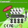 8CH Xvr Installationssätze CCTV-Gewehrkugel-Kamera-Sicherheit mit Ahd Cvi Tvi Kamera