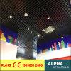 Plafond en aluminium suspendu par cloison en métal U