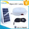 lampada solare SL1-8W di controllo chiaro di 6V8w 18p-2835-LED 396-450lumen