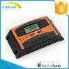 10A 12V/24Vの自動認識の二重ボタンLd10Aを表示するLCDが付いている太陽料金のコントローラ