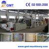 Producción plástica de la tarjeta de mármol artificial de la hoja del PVC que saca haciendo la maquinaria