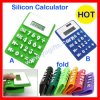 Calculadora solar do silicone