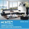 家具、ソファー、木のL字型ソファーセット