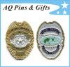 Metal 3D Military Police Badge com Soft Enamel Badge (badge-014)