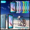 Caja protectora impermeable del teléfono celular para el borde de Samsung S6 S6