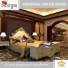 Legno solido di stile europeo Dz07 che intaglia la mobilia antica dell'hotel