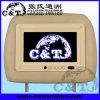 Exhibición de pantalla de monitor del apoyo para la cabeza TFT LCD del monitor del coche, 2 entradas audias/video (H703AV)