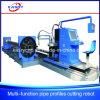 Rechthoekige Buis en de Elliptische Scherpe Machine van Beveling CNC van de Buis