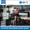 Máquina de soldadura automática de alta velocidade da emenda do cilindro de aço de China