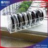 Eindeutiges Entwurfs-Schwarz-kompakter acrylsauerhalter für Verkauf