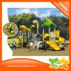 Equipamento ao ar livre engraçado do jogo que curva a corrediça para crianças