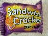 Bolinhos do biscoito do sanduíche ((SABOR do TARO)