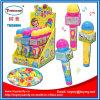 Пластичная конфета игрушки микрофона с нот