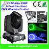 lavagem principal movente da luz RGBW do estágio de 7r Sharpy 230W