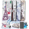 Colorful Tower PU Leather Wallet Flip Case for iPhone 6 Plus 5.5