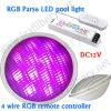 18W LED PAR56 con el regulador de RF3600 RGB, IP68 impermeabilizan, DC12V
