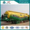 De Sinotruk Huawin de la forma de V 55cbm del cemento del petrolero acoplado a granel semi