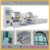 Máquina de corte de alumínio do CNC da cabeça do dobro do perfil, maquinaria da janela de alumínio