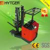 Hytger 1.5tonの狭い通路のための電気範囲のフォークリフト