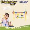 Игрушки воспитательных пластичных строительных блоков поставкы школы крытые