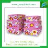 Belle boîte de cadeau adaptée aux besoins du client de carton de couleur de mode par impression