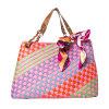 De lente 16 het Kleurrijke Weefsel Pu van de Manier Dame Handbags/Zak (MB019)