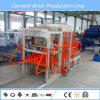 Tijolo concreto do edifício automático que faz a máquina obstruir a maquinaria