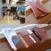Signore e Card Holder Document Organizer Bag di Gentlemen Travel Credit Card Wallets Leather Passport Cover Coin Caso Purse Passport Holder Women